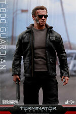"Hot Toys Terminator Genisys T-800 GUARDIAN 12"" Action Figure 1/6 Scale MMS307"