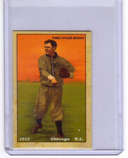 1912 Mordecai 3-Fingers Brown, Chicago Cubs,  limited edition Centennial reprint