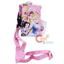 Disney Princess Lanyard Coin Wallet with Tangled - Light Pink