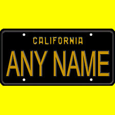 Custom Vanity Personalized State or Canada Province Bicycle License Plate