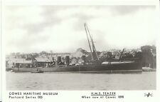 Shipping Postcard - H.M.S. Teazer - When New at Cowes 1898  BH1377
