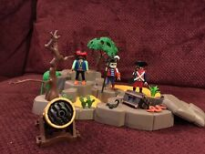 Vintage Playmobil 3127 Pirate Treasure Island Superset - Pirates Theme - Partial