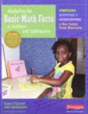 Mastering the Basic Math Facts in Addition and Subtraction : Strategies,...