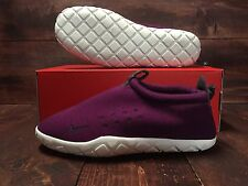 Nike Air Moc Tech Fleece 'Mulberry' Shoes Summit Anthracite SZ 10 ( 834591-510 )