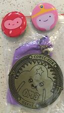 Cartoon Network Adventure Time Lumpy Space Princess Medal SDCC Con Quest