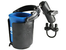 RAM Mount RAM-B-132RU Handlebar Self-leveling Drink Cup Holder w/ U-Bolt Base
