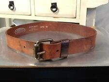 Made in Holland Real Leather Women's Fashion Belt Size 30 Brown