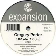 "GREGORY PORTER 1960 What? 12"" NEW VINYL Expansion Opolopo Roy Ayers Disclosure"