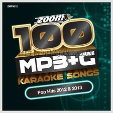 Zoom Karaoke 100 MP3+G Tracks Vol 12 - Hits Of 2012 & 2013 PC DVD-ROM