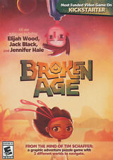Broken Age PC Games Windows 10 8 7 XP Computer Games point and click adventure