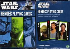 STAR WARS Sci-Fi Movie Lucas Films CHARACTER HEROES Single Deck PLAYING CARDS