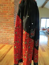 Embroidered Peasant Skirt Cotton Hippie Boho  Ethnic Festival