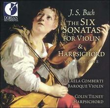 BACH / J.S.: 6 Sonatas for Violin & Harpsichord 1  Audio CD
