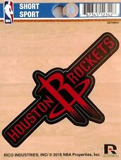 "Houston Rockets 3"" Vinyl Sport Die Cut Decal Bumper Sticker Emblem Basketball"