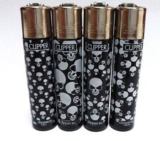 CLIPPER Scools New Brand 4pcs Full Size Many Refillable Original Lighters
