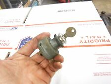 1980 SKIDOO BLIZZARD 5500 snowmobile parts: KEYED IGNITION SWITCH
