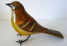Yvon Cote Folk Art Carved Bird Quebec mid 20th Century