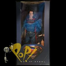 "Man of Steel SUPERMAN Blue Suit 1/4 Scale 18"" Action Figure NECA!"