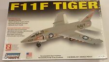 Lindberg 1/48 F11F Tiger US Navy Fighter Model Kit 70504