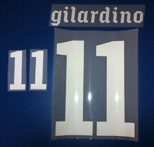 italia kit GILARDINO bianco Nameset maglia calcio puma