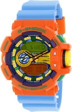 Casio Men's G-Shock GA400-4A Orange Rubber Quartz Watch