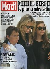 paris match n°2256 michel berger france gall SOMALIE