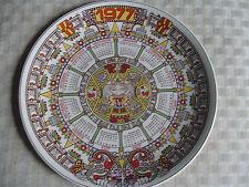1977 Wedgwood Calendar Plate (Wedgwood Year Plate)
