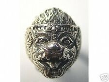 LOOK 0679 HANUMAN Silver Hindu Ring Jewelry Buddha Monkey OM