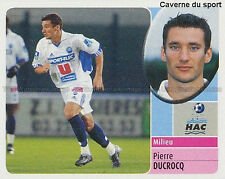PIERRE DUCROCQ # LE HAVRE HAC DERBY COUNTY STICKER  PSG PANINI FOOT 2003 ~