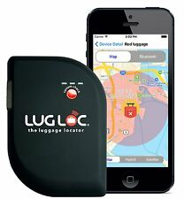 LugLoc Worldwide Lost Luggage Locator Tracker Tag Bluetooth Use With Smart Phone