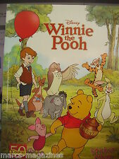 RARE PANINI STICKER ALBUM BOOK 50 YEARS DISNEY WINNIE THE POOH UNUSED & POSTER