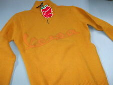 605159M03A MAN SWEATER WOOL ORANGE: LINE VESPA: SIZE M