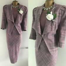 Debenhams DAMSEL IN A DRESS & JACKET SIZE 16 Mother Of The Bride Tweed Occasion.