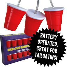 Red Cup Solo Party House Lights -  Battery Operated - Big Mouth Toys Tailgating