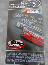 NASCAR 2001 Fast Forward WINSTON CUP SEASON REVIEW VHS Videos FACTORY SEALED