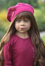 NWT Masterpiece Dolls Gianna RARE MB GREEN EYES By Monika Levenig