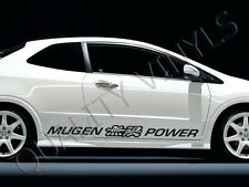P7 Honda Civic Mugen Power logotipo turbo cargado EVO CALCOMANÍAS GRÁFICOS