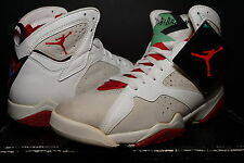 NIKE 1992 AIR JORDAN VII 7 HARE WHITE SILVER TRUE RED v ORIGINAL OG OLYMPIC 10.5