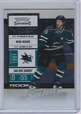 10-11 2010-11 PLAYOFF CONTENDERS MIKE MOORE ROOKIE RC PLAYOFF TICKET /100 158