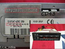 BMW business blaupunkt Rover CD43 radio cd player décoder service de code Mgzr 25 45