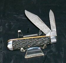 Syracuse Knife Co. Jack Knife Circa~1935 to 1940 By Camillus Cutlery USA Rare