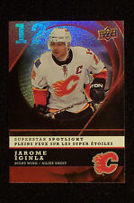 Jarome Iginla 2008/09 McDonald's UD Superstar Spotlight #IS10...The Hi BV $5