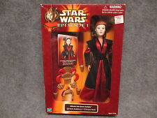 Star Wars Episode I Queen Amidala Collection Ultimate Hair Figure Doll In Box