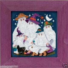 "Mill Hill Buttons & Beads Cross Stitch Kit 5"" x 5"" ~ GHOST FAMILY #14-5203 Sale"