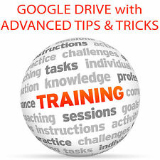 Google Drive e avanzate TIPS & Tricks-Video formazione tutorial DVD