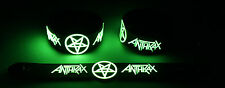 ANTHRAX NEW! Glow in the Dark Rubber Bracelet Wristband  GG345