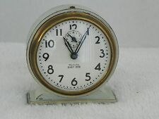 Vintage 1935-39 Westclox Baby Ben Wind Up Art Deco Alarm Clock