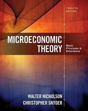 Microeconomic Theory: Basic Principles and Extensions (US HARDCOVER STUDENT 12E)
