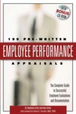 199 Pre-Written Employee Performance Appraisals: The Complete Guide to Successfu