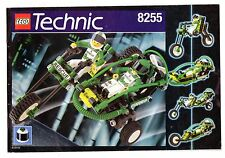 LEGO    TECHNIC   8255   LIBRETTO   NOTICE / INSTRUCTIONS BOOKLET / BAUANLEITUNG